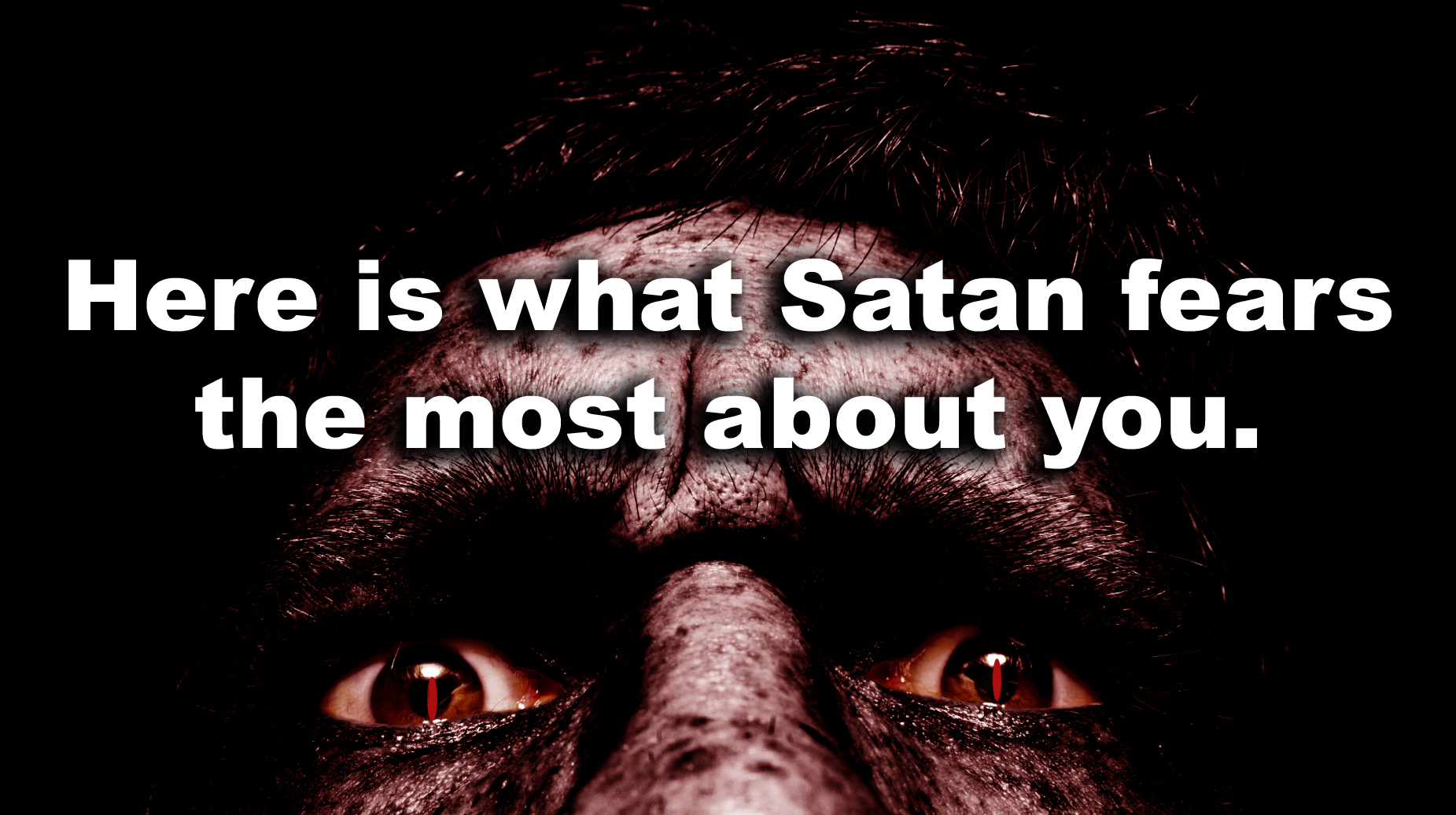 understanding satanism and what satanic people do Satan is working overtime to deceive, discourage, depress, destroy and delude people in these last days but there are some things that the devil cannot do and every person on this planet should.