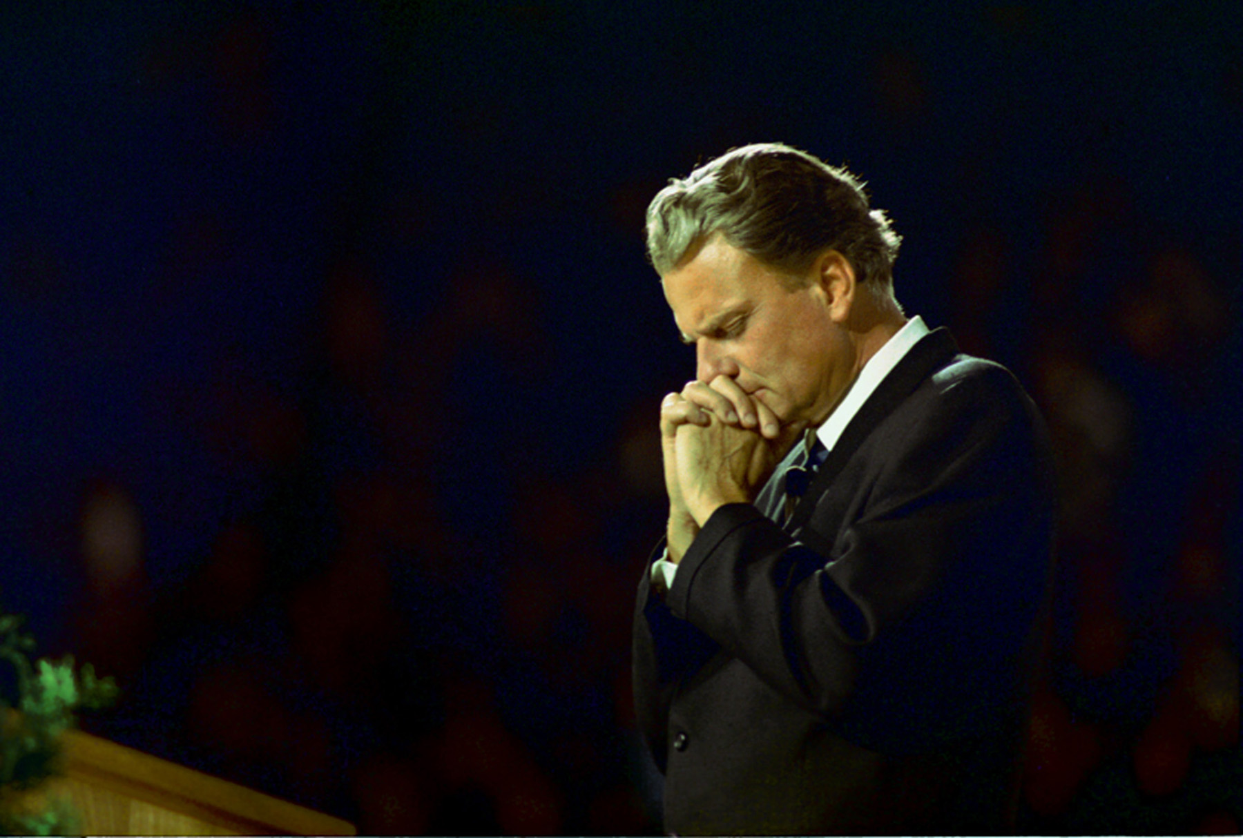 Billy Graham gave us a message and a hint about what he ...