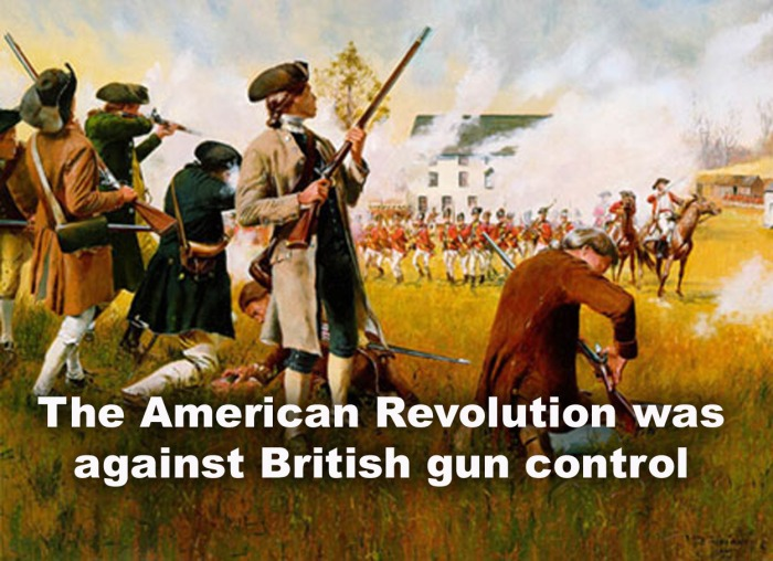 british gun control