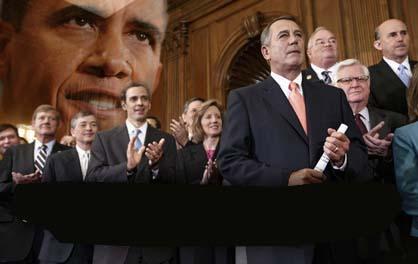 John Boehner, Tom Graves