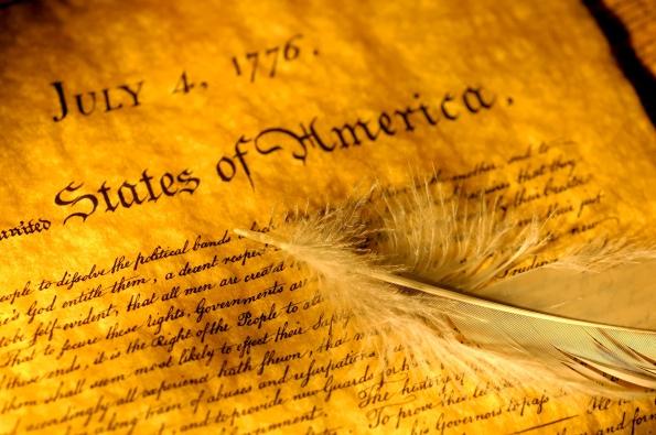 artwork of the declaration
