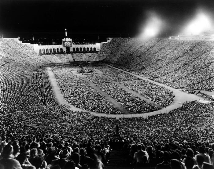 LA Coliseum 1963