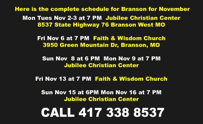 Branson November calendar copy