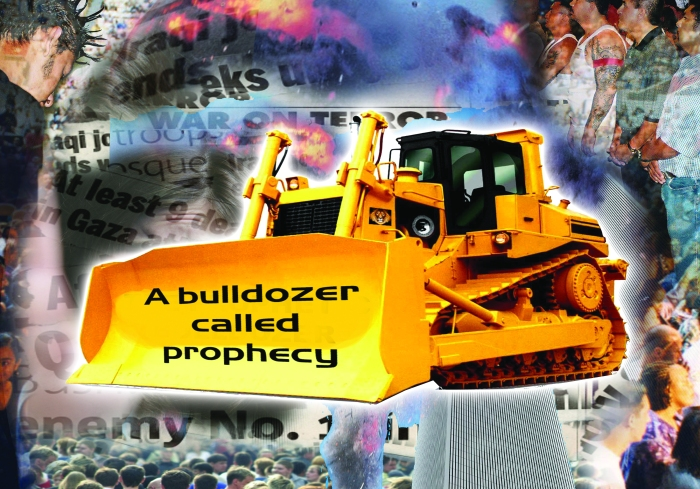 A bulldozer called prophecy blog