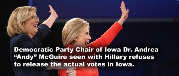 Hillary victory bogus
