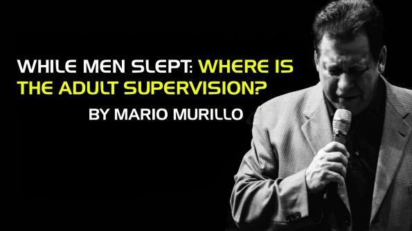 While men slept