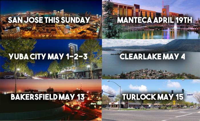 6 cities DATES