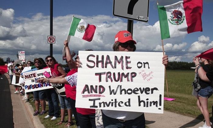 protestors