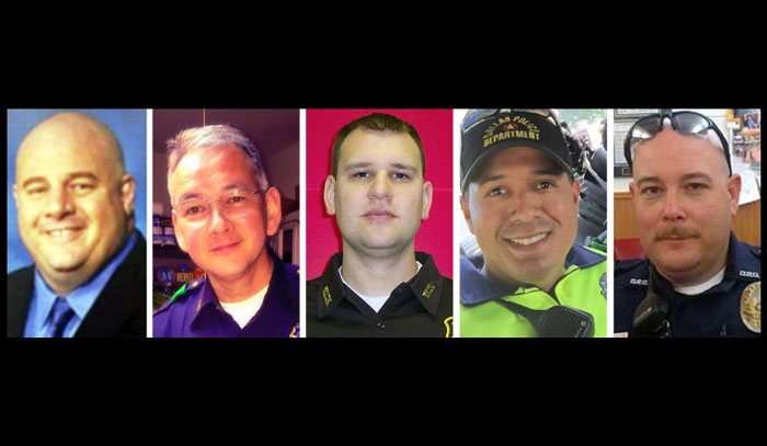 5 cops killed in Dallas