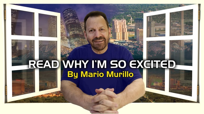 I AM EXCITED FOR MANY REASONS | Mario Murillo Ministries